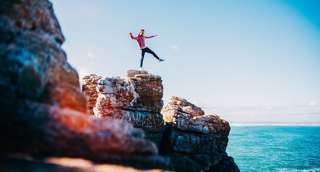 Developing resilience: Being comfortable with risk-taking
